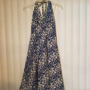🆕J. CREW HALTER DRESS IN A BEAUTIFUL PRINT-NEW
